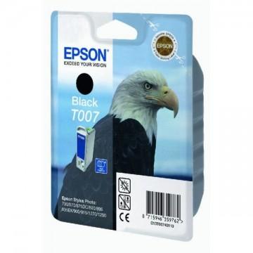 Poze Cartus Black T007 Epson Stylus Photo 780-790/870-895/900-915/1270/1290,  C13T00740110