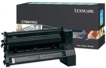 Poze Cartus Toner Black Return C780HG Lexmark C780/C782/X782