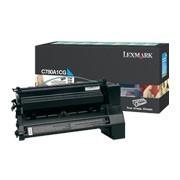 Cartus Toner Cyan Return C780A1CG Lexmark C780/c782/X782