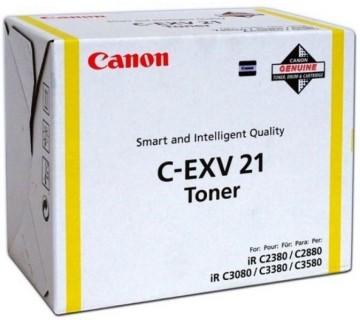 Cartus Toner Yellow C-EXV21Y Canon IRC 2880 /2380/C3080/C3380/C3580
