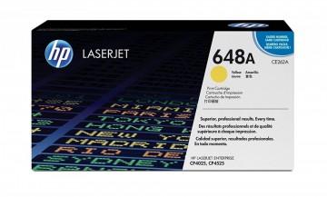 Cartus Toner Yellow HP 648A CE262A HP Laserjet CP4025 , LaserJet CP4525