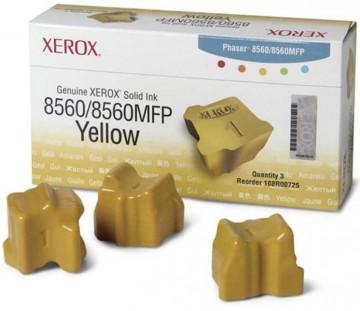 Cerneala solida Yellow 108R00766 Xerox Phaser 8560 (3 STICKS _