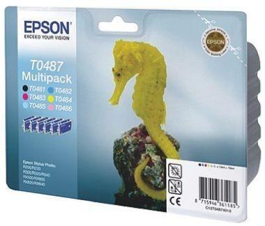Poze MultiPack CMYK-Lc-Lm C13T04874010 Epson Stylus Photo R200,R220,R300,R320,R340,RX500,RX600,RX620,RX640