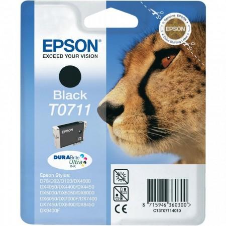 Poze Cartus Black C13T07114011 Epson Stylus D78