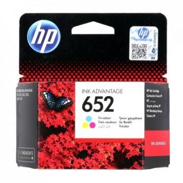 Poze Cartus Color HP 652 F6V24AE Original HP Deskjet 2135 AIO
