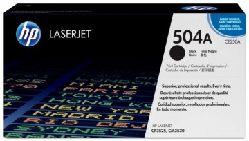 Poze Cartus Toner Black HP 504A CE250A HP Laserjet CP3525N