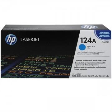 Poze Cartus Toner Cyan HP 124A Q6001A HP Laserjet 2600N