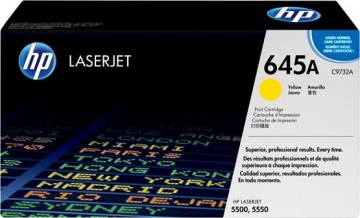 Poze Cartus Toner Yellow HP 645A C9732A HP Laserjet 5500