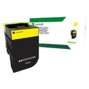 Cartus Toner Yellow Return Nr.802SY 80C2SY0 Lexmark CX310, CX410, CX510