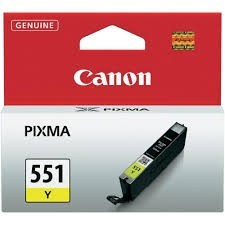 Cartus Yellow CLI-551Y Canon Pixma IP7250