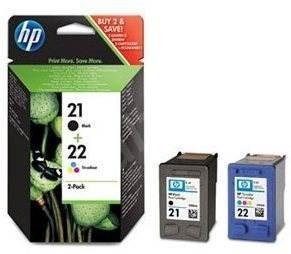 Poze Combo Pack HP 21 + HP 22 SD367AE Original HP Deskjet 3940