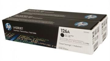 Dual Pack Cartus Toner HP 126A CE310AD  HP Laserjet  Pro 100 M175 , Pro CP1025, Pro M275