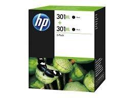 Poze TWIN PACK BLACK HP 301XL D8J45AE 2X ORIGINAL HP DESKJET 2050