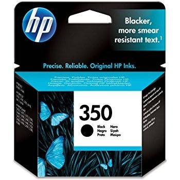 Cartus Black Vivera HP 350 CB335EE , Original HP Officejet J5780