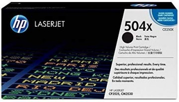 Cartus Toner Black HP 504X CE250X HP Laserjet CP3525N