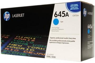 Cartus Toner Cyan HP 645A C9731A HP Laserjet 5500