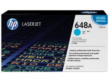 Poze Cartus Toner Cyan HP 648A CE261A HP Laserjet CP4025 ,LJ CP4525