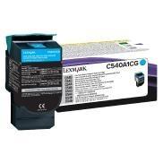 Cartus Toner Cyan Return C540A1CG Lexmark C540, C543, C544, X543, X544, X548