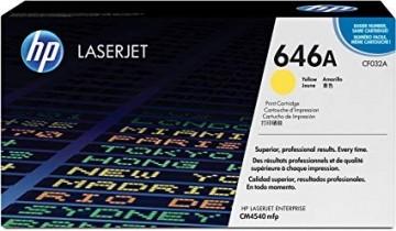 Cartus Toner Yellow CF032A HP Laserjet CM4540