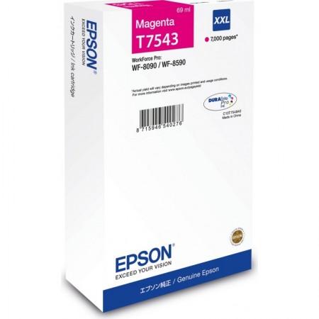 Poze Cartus Magenta Size XXL C13T754340  Epson Workforce Pro Wf-8010,WF-8590