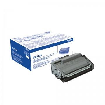 Cartus Toner Black TN3430 Brother HL-L5000, HL-L5100, HL-L5200, HL-L6250, HL-L6300DW, HL-L6400DW, MFC-L5700, MFC-L5750, MFC-L6800, MFC-L6900 , DCP-L5500, DCP-L6600 .