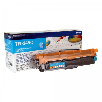 Cartus Toner Cyan TN245C Brother DCP-9015, DCP-9020, HL-3140, HL-3170, MFC-9140, MFC-9340