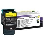 Cartus Toner Yellow Return C540A1YG Lexmark C540, C543, C544, X543, X544, X548