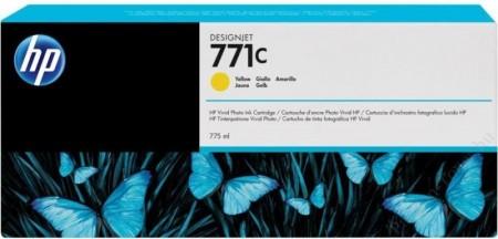 Poze Cartus Yellow HP 771C B6Y10A 775ml Original HP Designjet Z6200