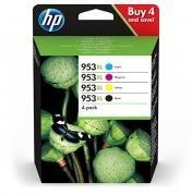 Poze COMBO PACK HP 953XL 3HZ52AE CMYK ORIGINAL HP OFFICEJET PRO 8210