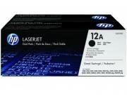 Dual Pack Cartus Toner HP 12AD Q2612AD HP Laserjet 1010