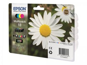 Poze MultiPack CMYK Nr.18  Epson XP-102/202/205/212/302/305/402/405, C13T18064012