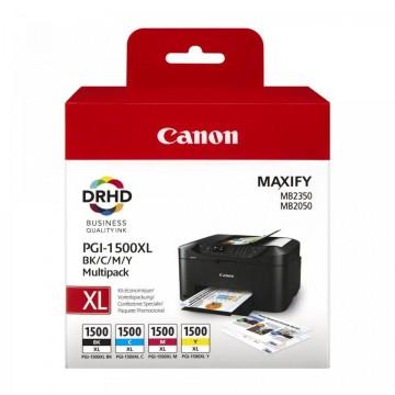MultiPack PGI-1500XL  BK/C/M/Y Canon MAXIFY MB2050