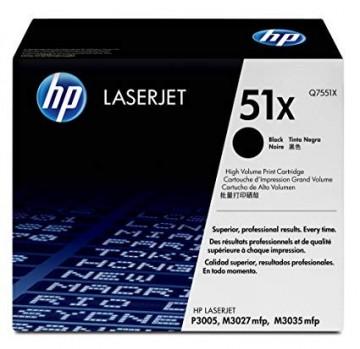 Poze Cartus Toner HP 51X Q7551X HP Laserjet P3005  ,M3027,M3035