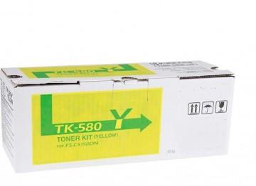 Cartus Toner Yellow TK-580Y Kyocera FS-C5150/ P6021 (1T02KTANL0 )