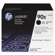 Dual Pack Cartus Toner CE390XD (2XCE390X) HP Laserjet M4555 , Enterprise 600 M602/M603/