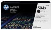 Poze Dual Pack Cartus Toner HP 504X CE250XD HP Laserjet CP3525 , CM3530