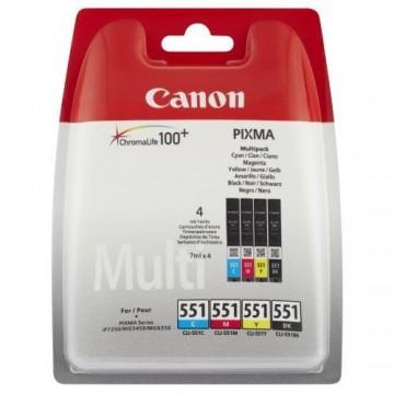 MultiPack CLI-551C/M/Y/BK Canon Pixma IP7250