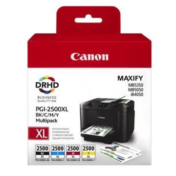 MultiPack PGI-2500XL  BK / C / M / Y Canon MAXIFY IB4050