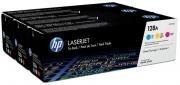 Poze TRIPack CMY CF371AM Cartus Toner HP 128A CE321A/CE322A/CE323A HP Laserjet CM1415FN