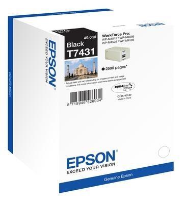 Poze Cartus Black C13T74314010 Epson Workforce Pro Wp-M4015Dn,WP-M4525DNF
