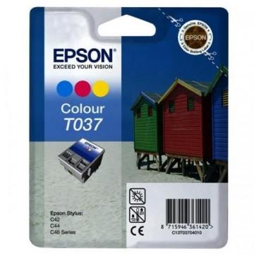 Poze Cartus Color T037  Epson Stylus C42/C44/C46,  C13T03704010
