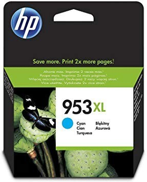 Poze Cartus Cyan HP 953XL F6U16AE Original HP Officejet Pro 8210