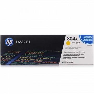 Poze Cartus Toner Yellow HP 304A CC532A HP Laserjet CP2025