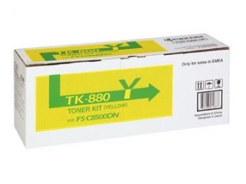 Cartus Toner Yellow TK-880Y Kyocera FS-C8500