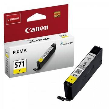 Cartus Yellow CLI-571Y Canon Pixma MG6850