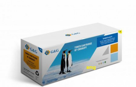 Poze G&G ,cartus toner YELLOW Q6002A 2K REMANUFACTURAT , HP laserjet 2600N