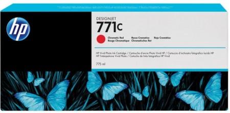 Poze Cartus Chromatic Red HP 771C B6Y08A 775ml Original HP Designjet Z6200