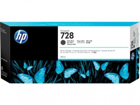 Poze Cartus Matte Black HP 728 F9J68A  Original HP Designjet T730 ,Designjet T830