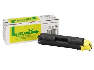 Cartus Toner Yellow TK-590Y Kyocera FS-C2016 /C2026/C2126/C5250 (1T02KVANL0 )