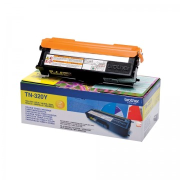 Cartus Toner Yellow TN320Y Brother DCP-9055, DCP-9270, HL-4140, HL-4150, HL-4570, MFC-9460, MFC-9970